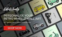 Retro Wheelz Custom Prints