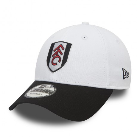 New Era FFC 9Forty Basic Visor Wht/Blk