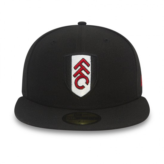 New Era FFC 59Fifty Black Cap