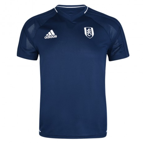 adidas 17/18 Fulham Navy Training Jersey Youth