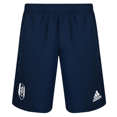 Adidas 17/18 Fulham Navy Woven Shorts Youth