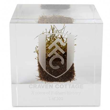 Craven Cottage Turf Limited Edition Cube