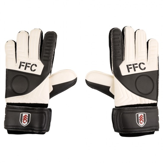 Fulham Junior Goalkeeper Gloves
