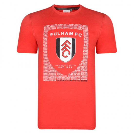 Fulham Legends Red Tee