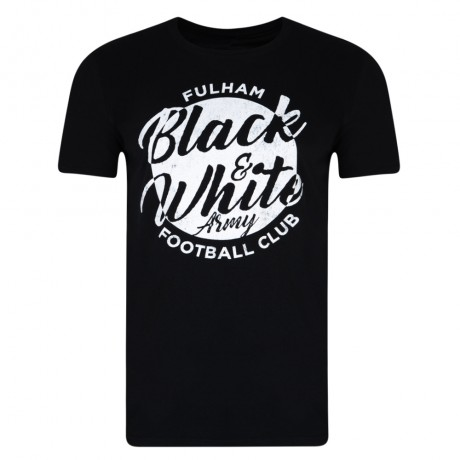 Black and White Army Mens Tee