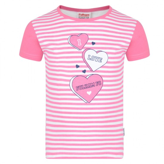 Girls - I Love Fulham T Shirt