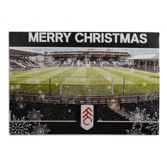 Merry Christmas Card (Stadium behind Goal)