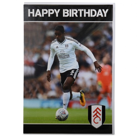 Happy Birthday Card ( Ryan Sessegnon)