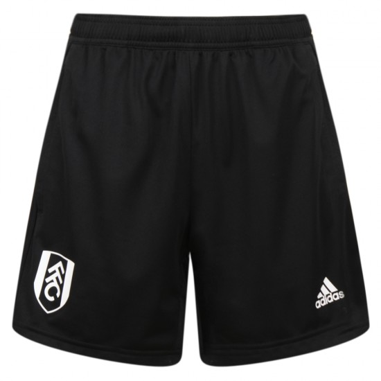 TW18 Fulham Youth Black Woven Shorts