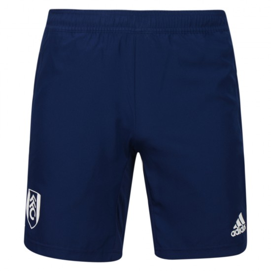 TW18 Fulham Mens Blue Woven Shorts