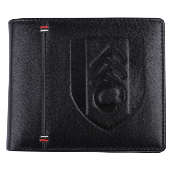 Fulham Crest Leather Wallet