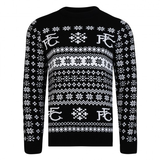 Fulham Christmas Fairisle Jumper
