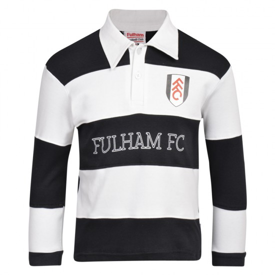 AW18 Fulham Long Sleeved Striped Polo