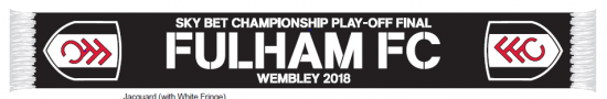 Play Off Final Scarf