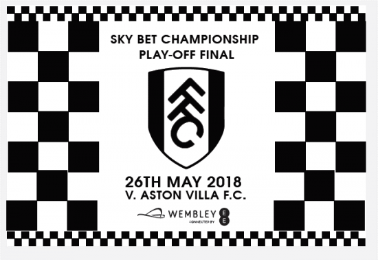 Play Off Final Flag