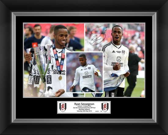 Sessegnon Celebration Picture (16x12)