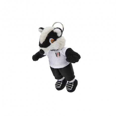 Billy the Badger 4inch Soft Toy Keyring