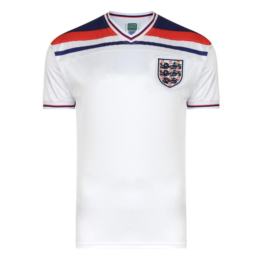 England 1982 World Cup Final Home Shirt Fashion Big Size T Spain 3xl