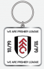 We are Premier League Keyring