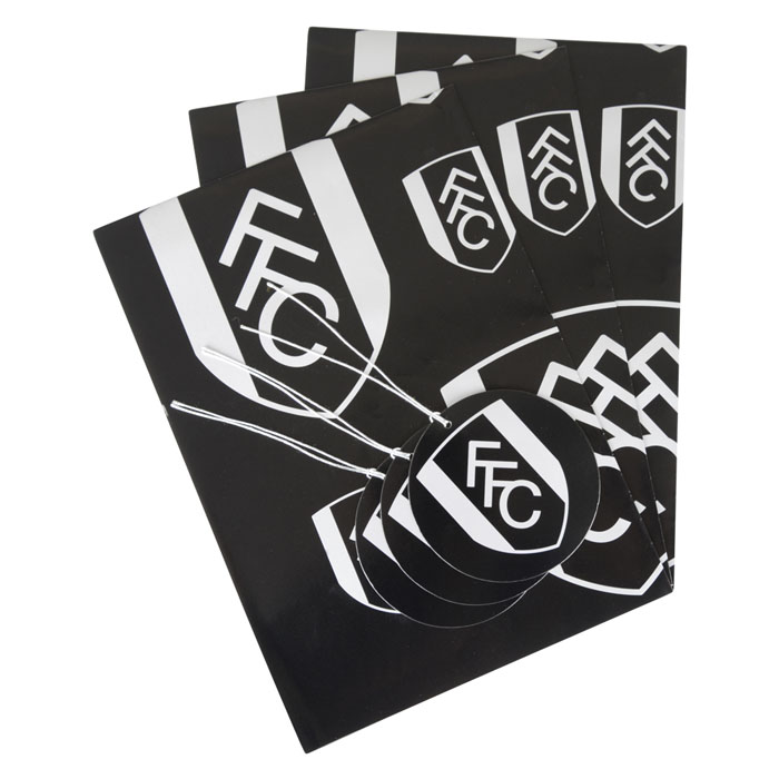 Fulham Crest Wrap and Tag Set