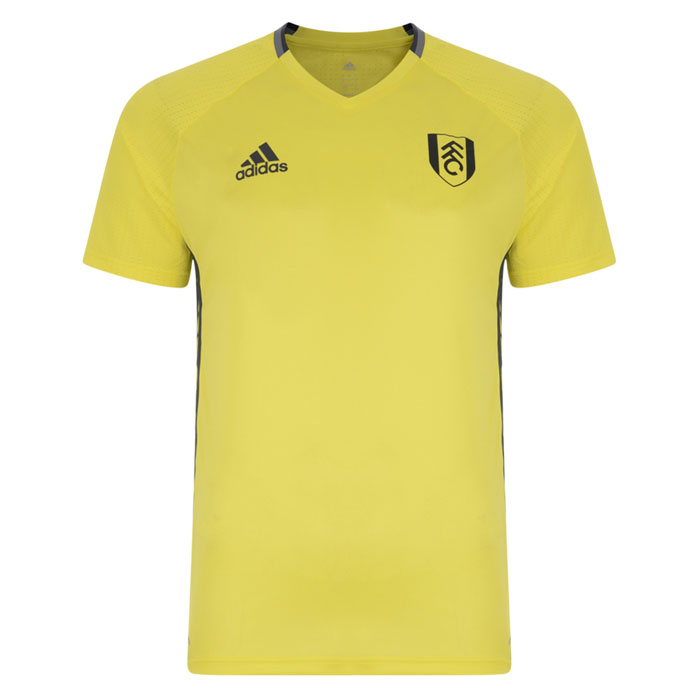 adidas 16/17 Fulham Yellow Training Jersey Adults