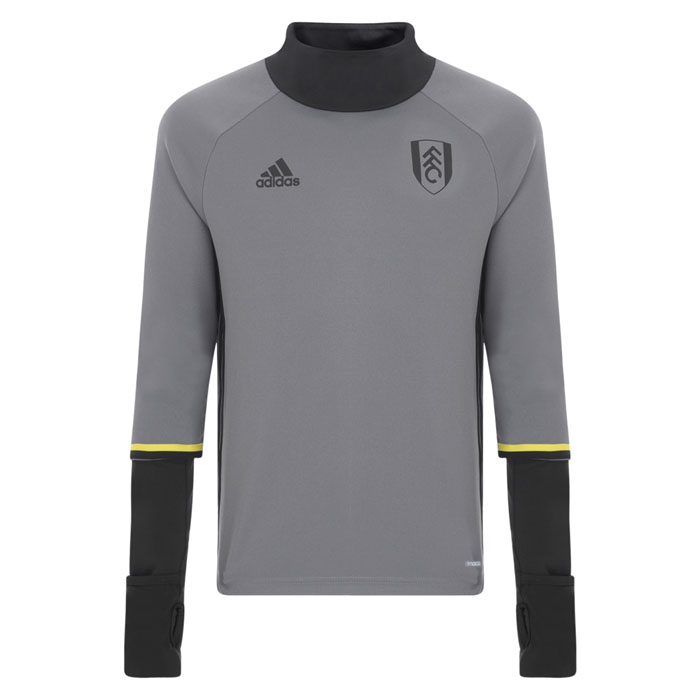 adidas 16/17 Fulham Grey Training Top Childs