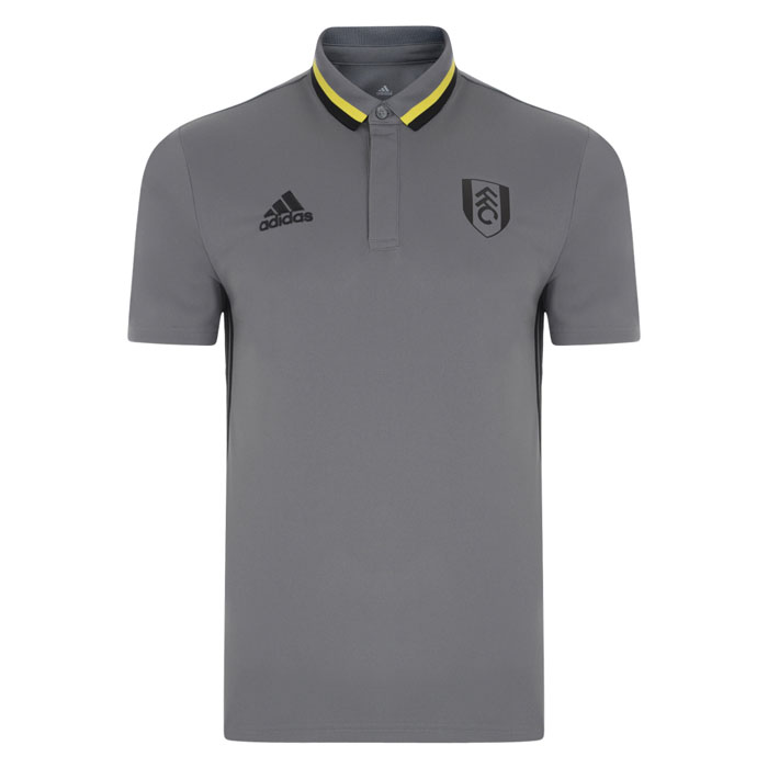 adidas 16/17 Fulham Grey Travel Polo Childs