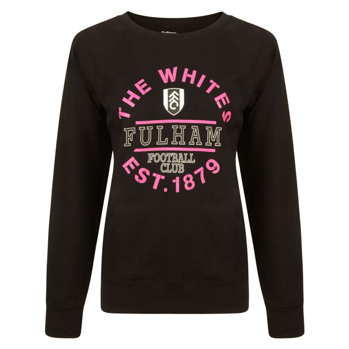 Ladies Fulham The Whites Sweater Black