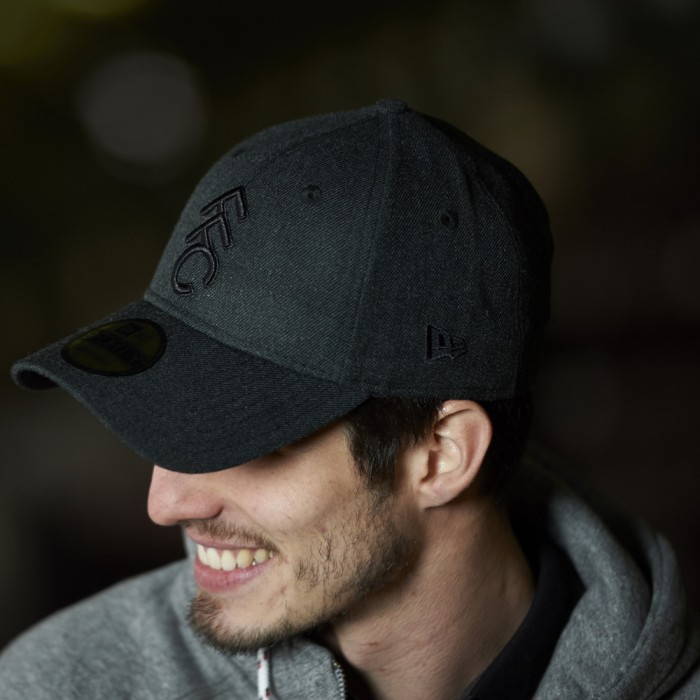 New Era FFC 9Forty Black Tonal Cap