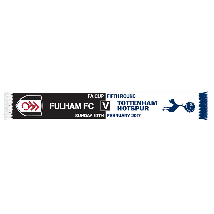 Fulham v Spurs FA Cup Scarf