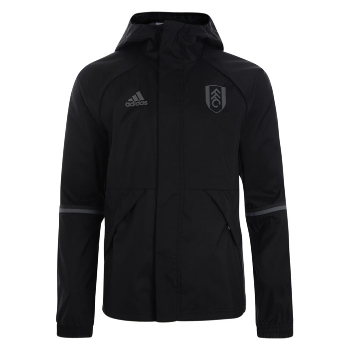 adidas 16/17 Fulham Black All Weather Jacket
