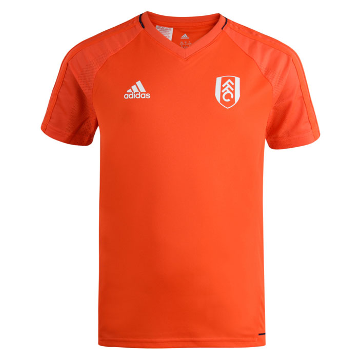 adidas 17/18 Fulham Energy Red Training Jersey Yth
