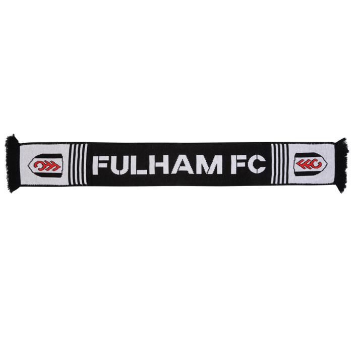Fulham Football Club Fleece Backed Scarf