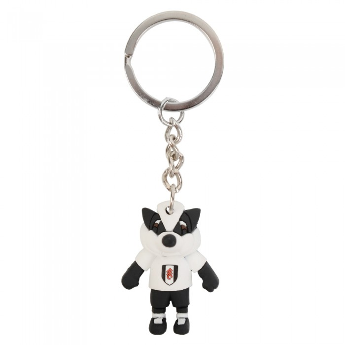 Billy the Badger Keyring
