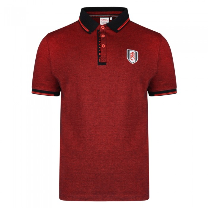 Fulham Birds Eye Pique Polo