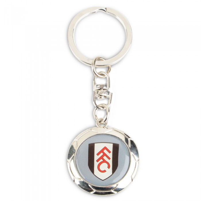 Fulham Football Club Silver Ball Keyring