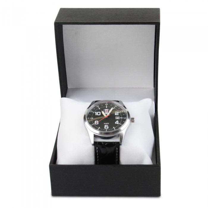 Mens brushed alloy watch