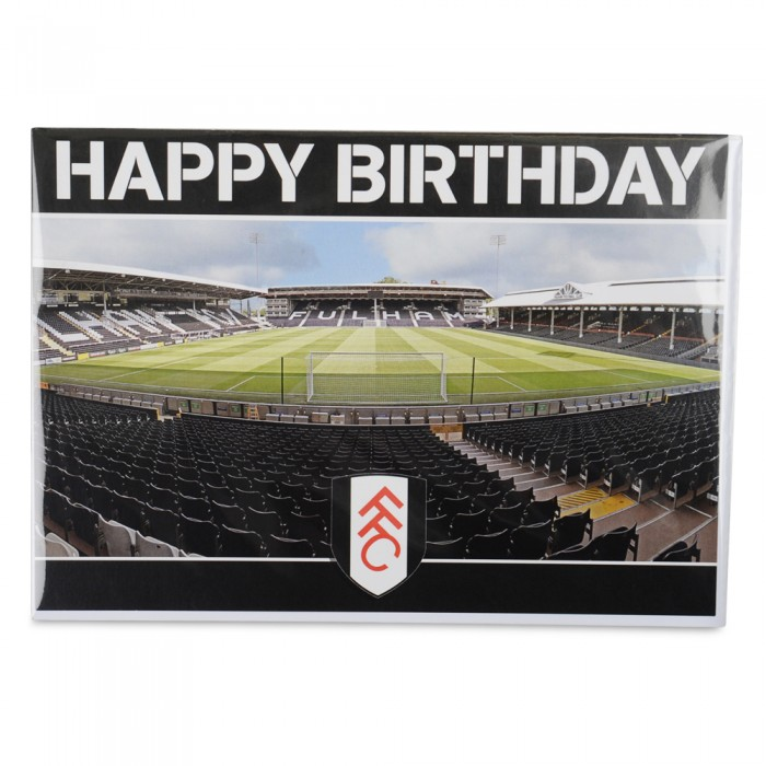 Happy Birthday Card (Stadium Behind Goal)