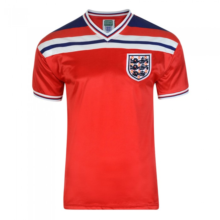 England 1982 World Cup Final Away Shirt
