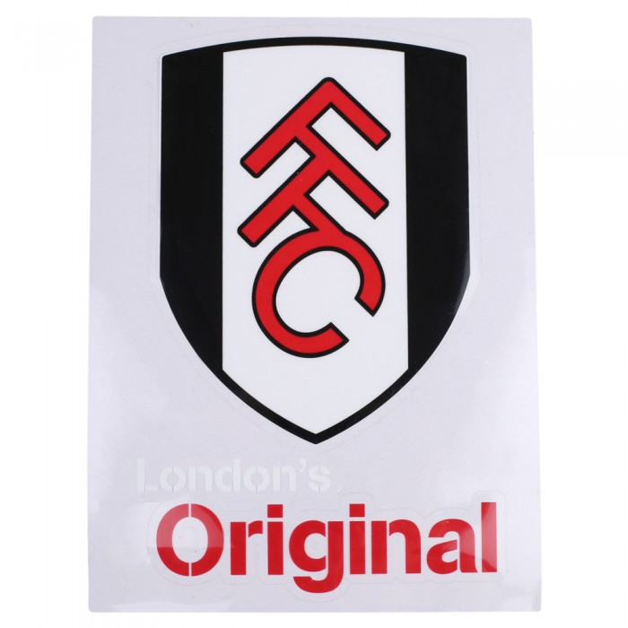 Fulham A4 Car Sticker