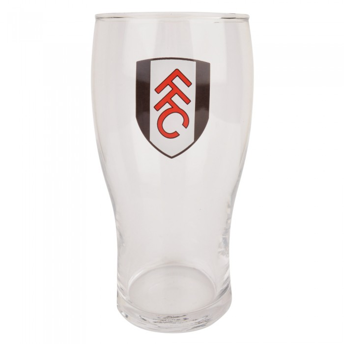 Fulham Crest Pint Glass