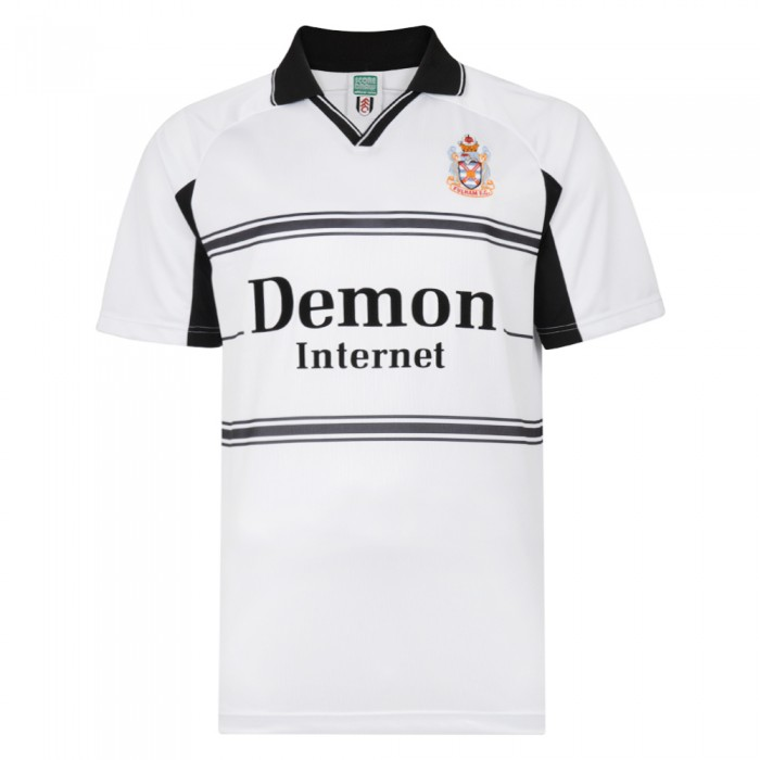 Fulham Football Club 2001 Home Retro Shirt