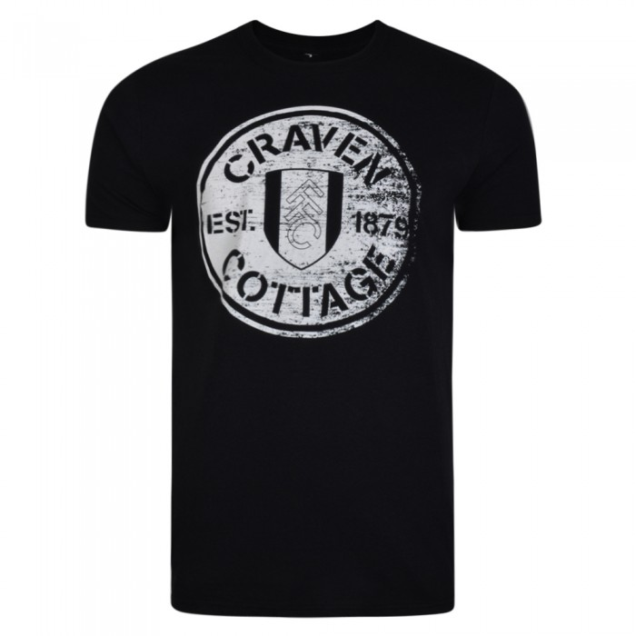 Craven Cottage Tee Black