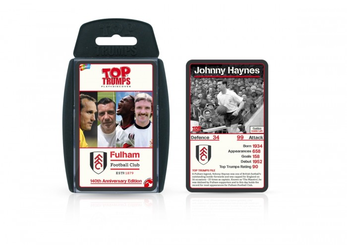 Fulham 140th Anniversary Edition Top Trumps