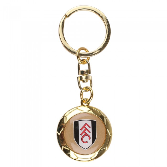Gold Ball Keyring