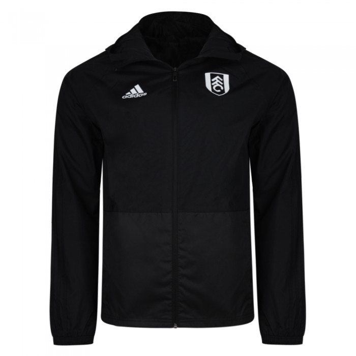 TW18 Fulham Mens Black Rain Jacket