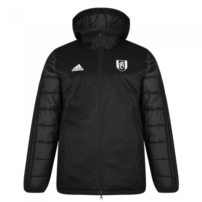 TW18 Fulham Mens Black Winter Jacket
