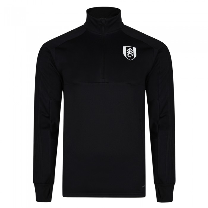 TW18 Fulham Mens Black Training Top 2