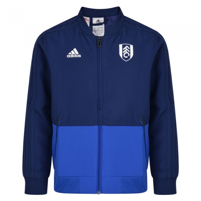 TW18 Fulham Youth Blue Presentation Jacket