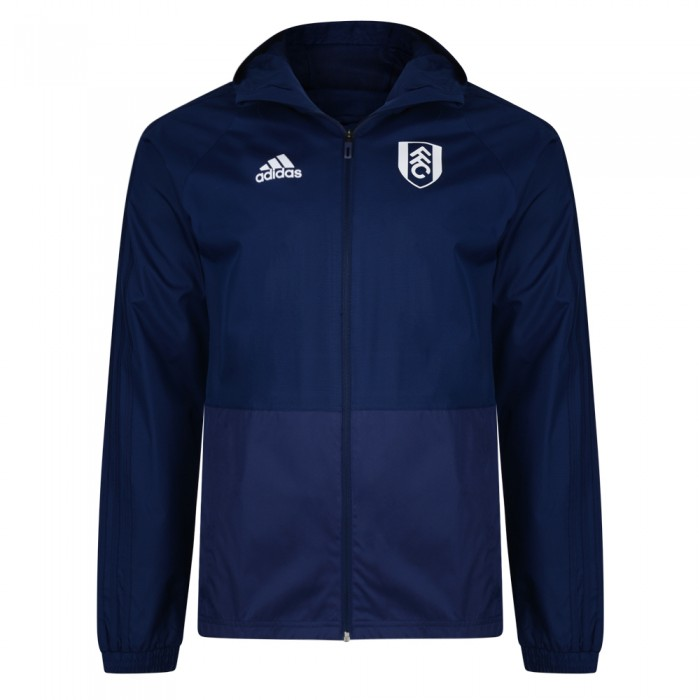 TW18 Fulham Mens Blue Rain Jacket